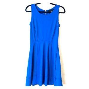 CYNTHIA ROWLEY royal blue sleeveless dress S/P